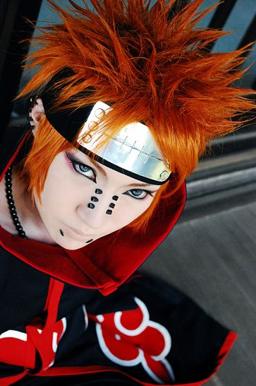 Naruto - Nagato/Pain Cosplay!    This stuff is so cool