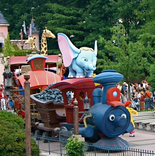 Image result for casey jr float disneyland paris