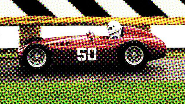 A CMYK image (with halftone dots visible).