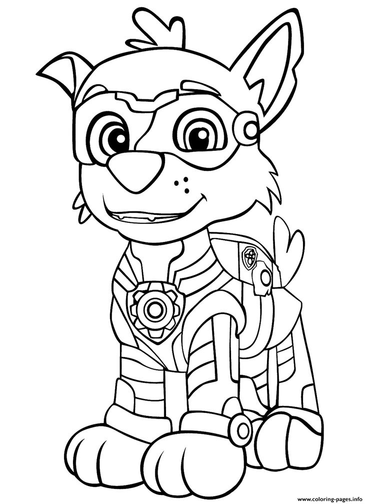 Print Paw Patrol Mighty Pups Rockys Coloring Pages Paw Patrol Coloring Pages Paw Patrol Coloring Unicorn Coloring Pages
