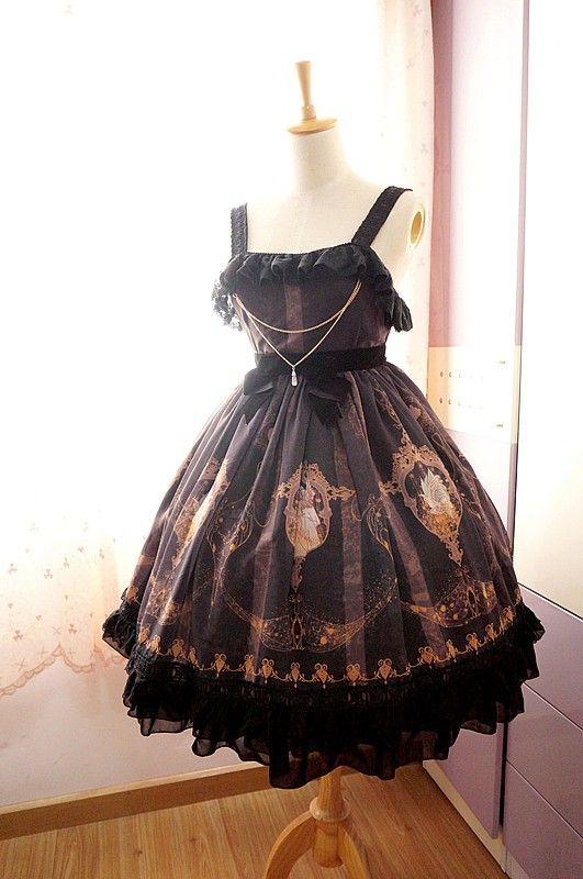 Neverland Lolita***La Pucelle and Pigeon***High Waist Lolita Jumper Dress-$104.99 - My Lolita Dress