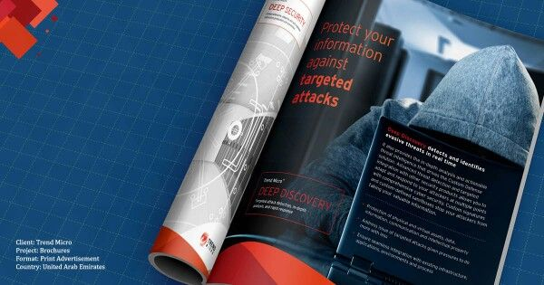 Client: Trend Micro Project: Brochure Format: Print Ad Country: United Arab Emirates   FLOMEDIA - Inspire, Create, Innovate.