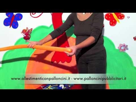 Sculture con palloncini modellabili: la girazza   http://www.palloncinimodellabili.it/