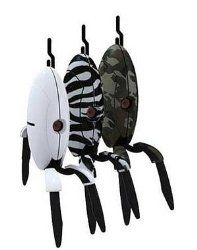 Portal 2 sentry turret collectible figures