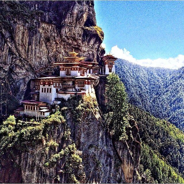 Paro Taktsang, Bhutan, Asia