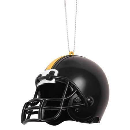 Pittsburgh Steelers Official NFL ABS Helmet Ornament by Forever Collectibles, Multicolor