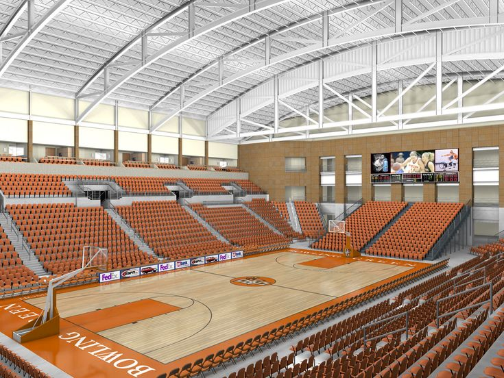 Bowling Green State University - Stroh Athletic Center (Bowling Green, Ohio)