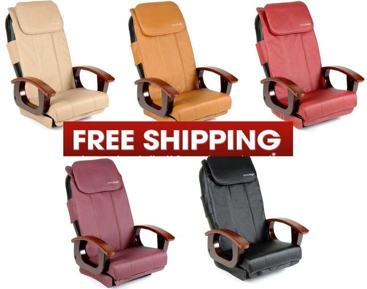 Shiatsulogic cushion seat cover set for pedicure chair and