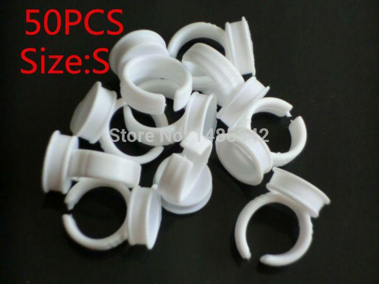 Размер S 50 шт нет сепаратор постоянный макияж легко кольцо чернильного контейнера / чаша для подачи чернил WS102 купить на AliExpress