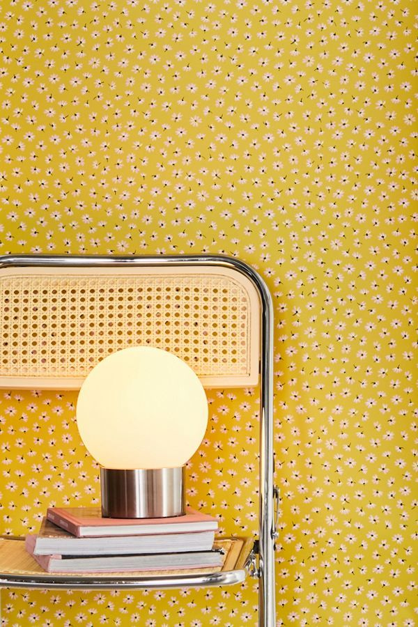 Aster Daisy Removable Wallpaper Removable Wallpaper Urban Outfitters Wallpaper Geometric Removable Wallpaper