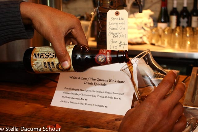 He'Brew Messiah beer. Photo by Stella Dacuma Schour