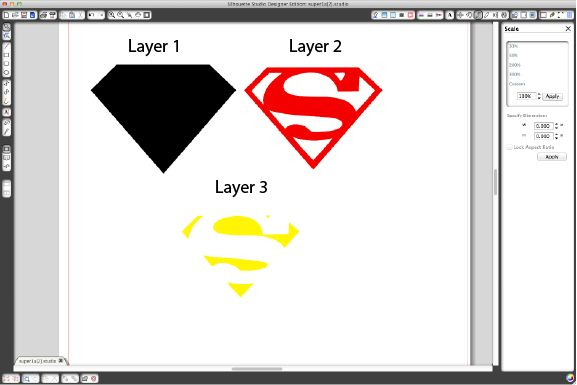 Silhouette Blog: NEW Licensed Superman™ Shapes :: a superhero party treat bag