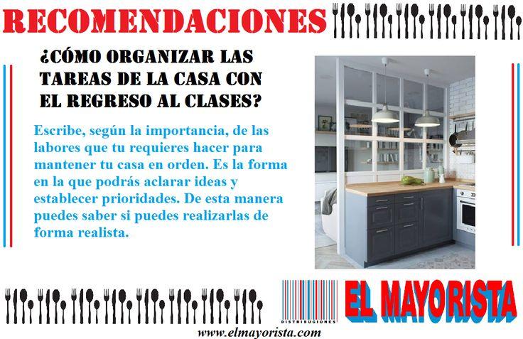 Aquí una pequeña recomendación para mantener tu casa siempre ordenada a pesar de tener poco tiempo para hacerlo #elmayorista #Martes www.elmayorista.com