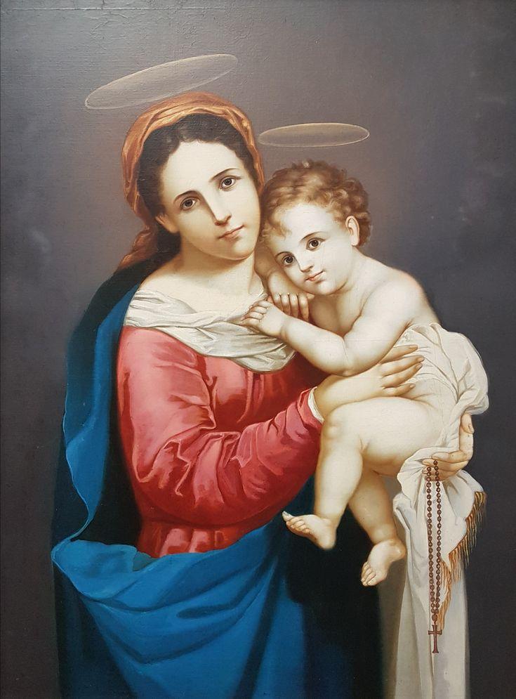 Museo Convento Santo Domingo Quito Virgen Antonio Salas. Javier Hernández P.