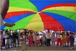 Actividades para Educación Infantil: 10 juegos con paracaidas