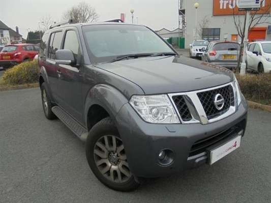 Used 2012 (62 reg) Slate Grey Nissan Pathfinder 2.5 dCi Tekna 5dr Auto for sale on RAC Cars
