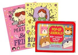 Deal of the Week - Read & Create for Girls. This Deal contains: Pea's Book of Best Friends by Susie Day, Pea's Book of Birthdays by Susie Day & Pop-Up Animals  Get your Deal here: http://www.readerswarehouse.co.za/deal-of-the-week-read-create-for-girls