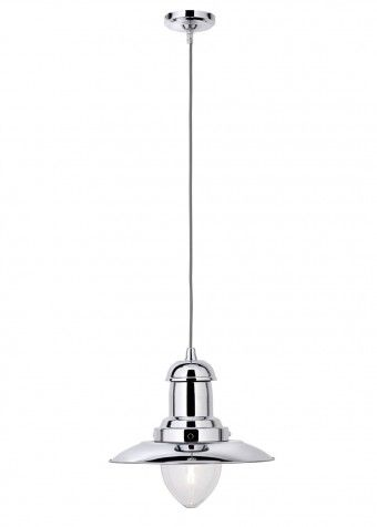 Searchlight Fisherman Ceiling Light Polished Chrome