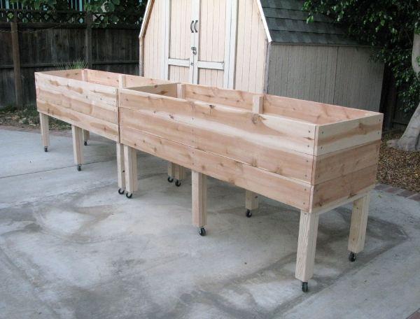 17 Best Ideas About Elevated Garden Beds On Pinterest Elevated Planter Box Diy Raised Garden