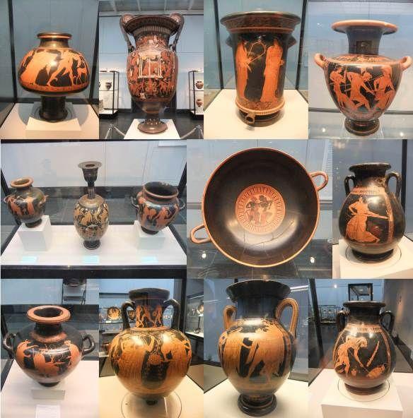 Munique - Staatliche Antikensammlungen - Vasos gregos 1