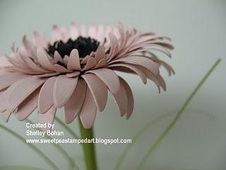 paper gerbera daisy tutorial