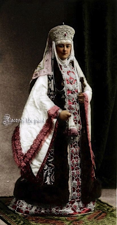 Countess Sheremetev at the Winter Palace Costume Ball of 1903.  by ~VelkokneznaMaria.