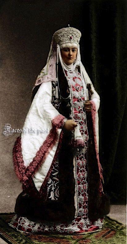 Countess Sheremetev at the Winter Palace Costume Ball of 1903. by ~VelkokneznaMaria.