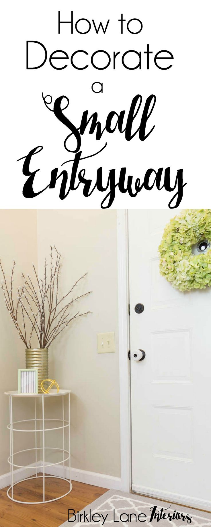25 Best Ideas About Small Entryway Tables On Pinterest