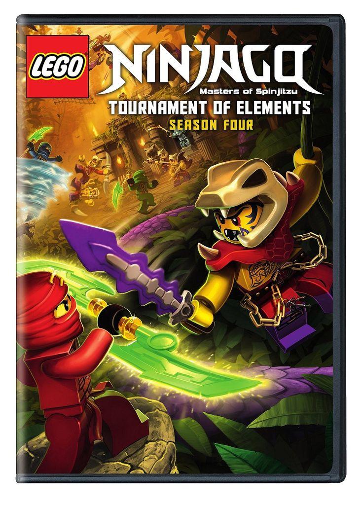 Lego ninjago masters spinjitzu rebtd season 4 dvd new - Lego ninjago 4 ...