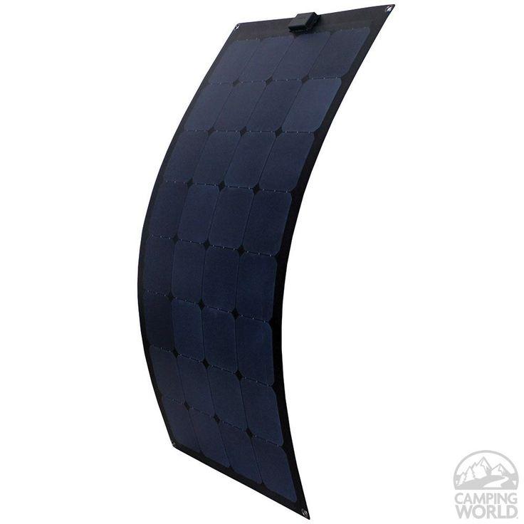 Flex Solar Panel, 100 Watt - RDK Products 56710 - Solar Panels - Camping World