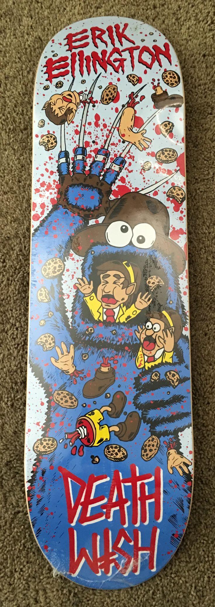 Eric Ellington, DeathWish Deck, Cookie Monster w/ a Freddie Glove