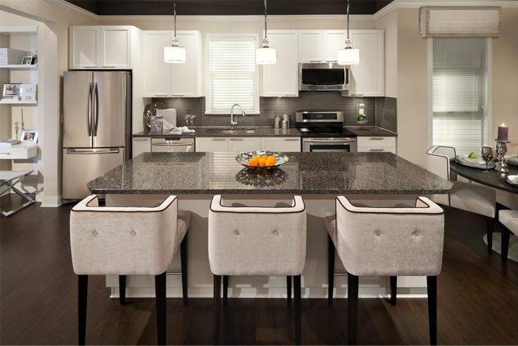 Breeze   Granite or quartz kitchen surfaces & stainless steel appliances