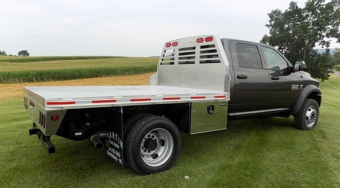 Martin Truck Bodies Creates Quality Custom Aluminum Flatbed