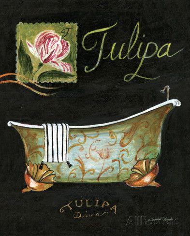 Tulipa Bath Stampe di Jennifer Garant su AllPosters.it