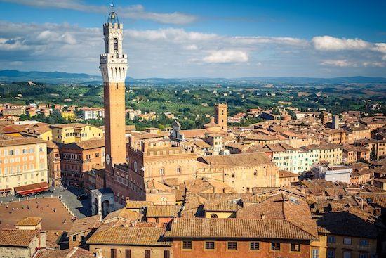 Day 2 Across Italy Escorted Tour #siena #traveltoitaly