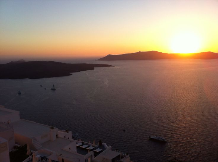 From Sphinx Restaurant we watcing the sunset with special flavours
