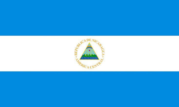 Nicaragua Flag colors - meaning & history of Nicaragua Flag