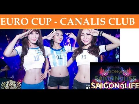 EURO CUP | CanalisClub | SEXY BodyPainting SHOW [ Saigon9Life ] HD 2016