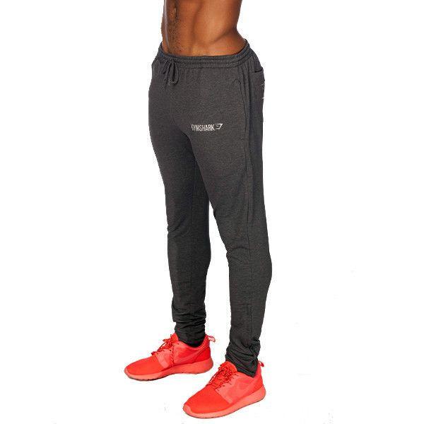 GymShark Fit Tapered Bottoms - Graphite Mens bottoms | GymShark International | Innovation In Fitness Wear