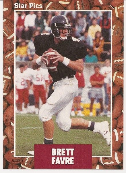 Brett Favre rookie year for the Falcons