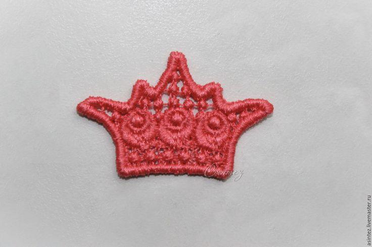 Купить аппликация вышивка кружево королевская Корона нашивка FSL - вышитая аппликация, вышитая корона