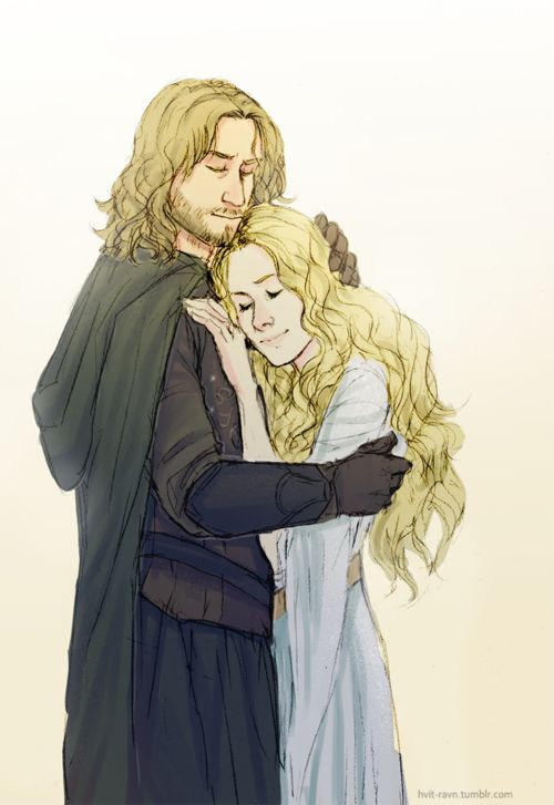 eowyn and faramir meet