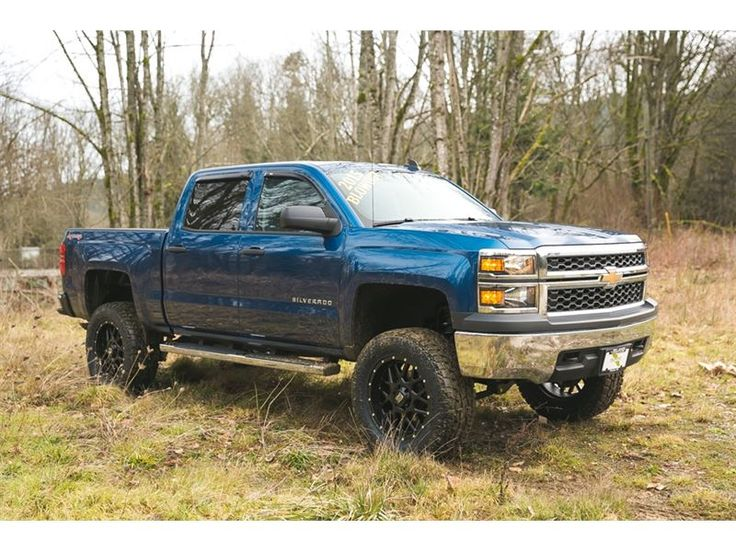 """Truck - 2015 Chevrolet Silverado 1500 *6 Lift *20Wheels *35 M/T Tires in Duncan, BC $44,670"""