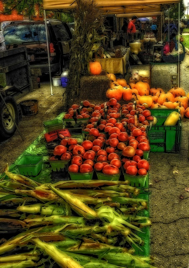 Farmers Market Victoria Square - Kawartha Lakes, Ontario, Canada