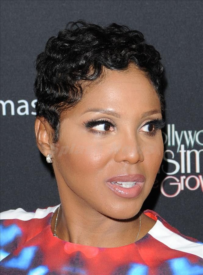 toni braxton's new haircut | Mary J Blige and Toni Braxton start Christmas with the annual lighting ...