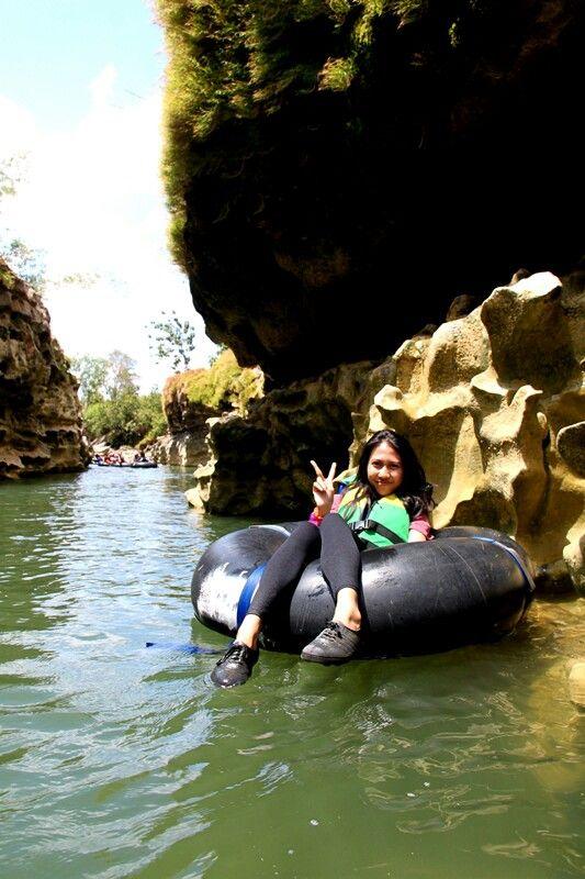 Sungai oyo yogyakarta, Indonesia.  nice but hot!