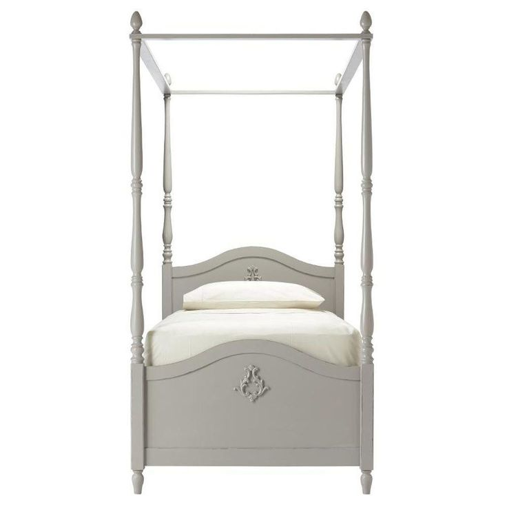 Carmela Kids Grigio Carmine Full Size Canopy Bed  sc 1 st  Pinterest & Best 25+ Full size canopy bed ideas on Pinterest | Canopy bed ...