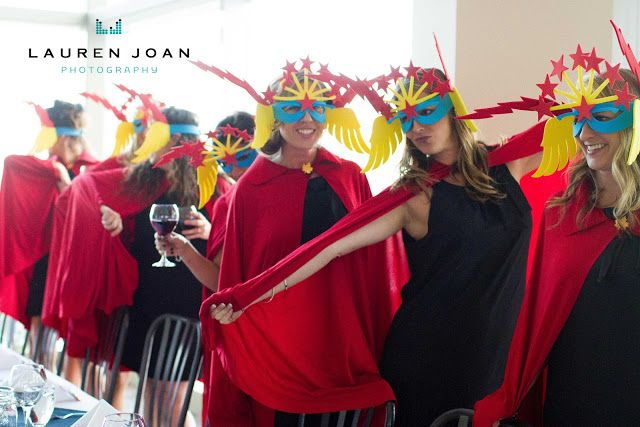 Lauren Joan Photography - Vancouver BC based photographer: Wedding  #whistler #superhero #bridesmaids