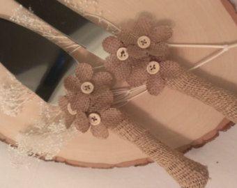 rustic country crosses cakes | rustic wedding cake cutting country wedding cake knife serving set ...