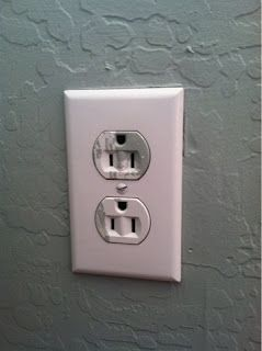 How To Remove Paint And Other Scuffs From Your Outlets